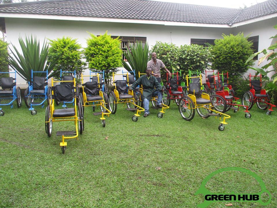 Rolstoelen Green Hub