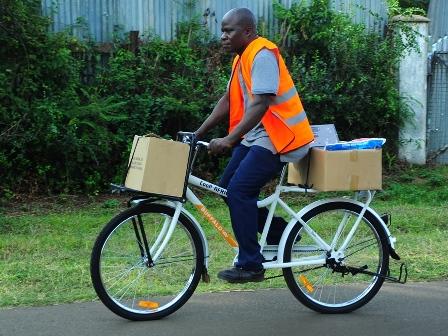 Bike4Work bicycle entrepreneur Kenya