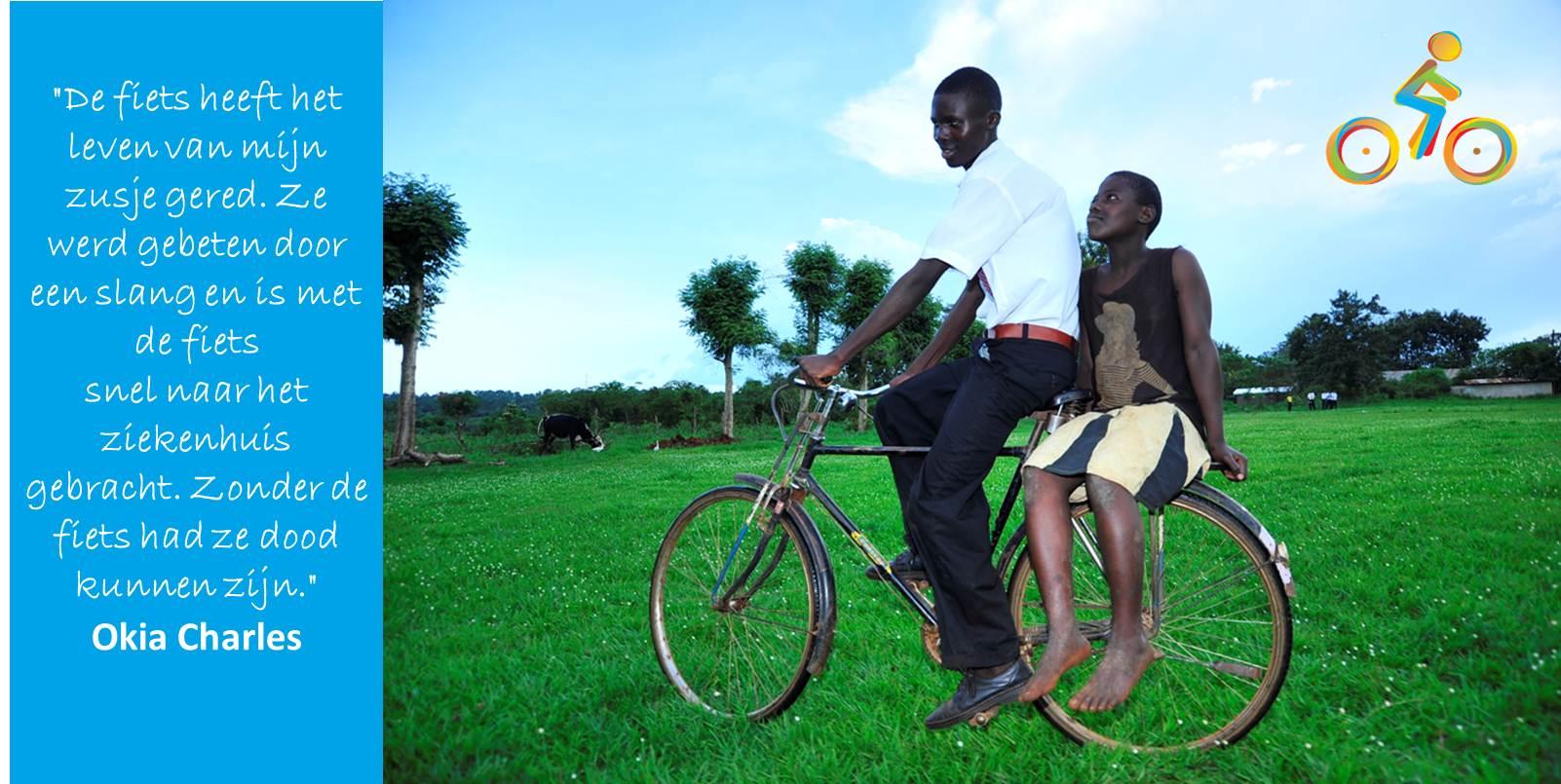 Bike4School Okia Charles