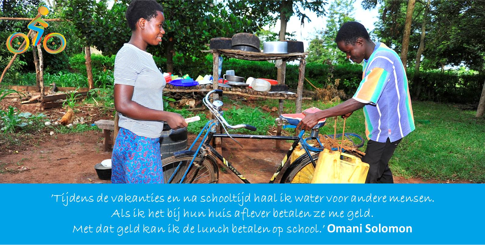 Bike4School Omani Solomon