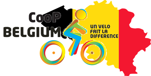 Logo CooP Belgium  - cycling out of poverty