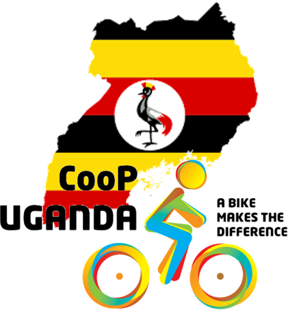 Logo CooP Uganda - cycling out of poverty