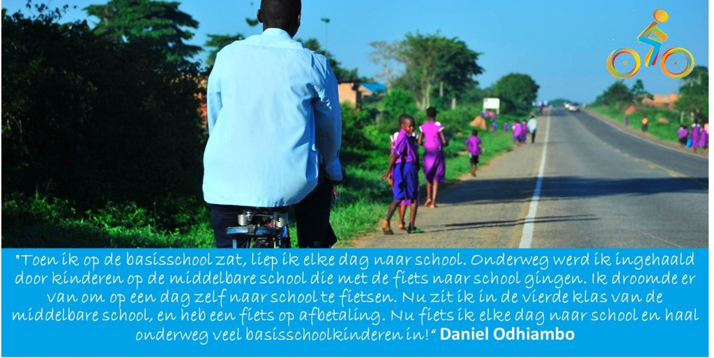 lespakket_Bike4School_Daniel_Odhiambo